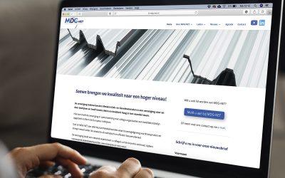 'Frisse website ondersteunt nieuwe koers MDG-NET'