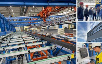 MDG-net bezoekt nieuwe hypermoderne en duurzame fabriek van SAB-profiel